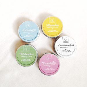 Catteco deodorantti voiteet luonnonkosmetiikka